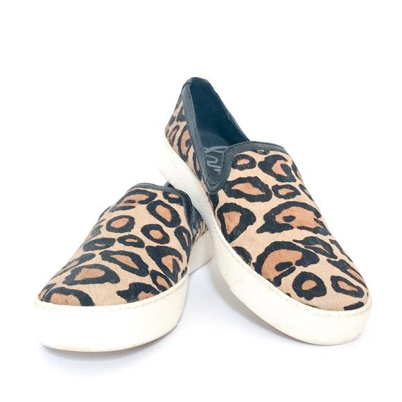 471ad5d5eb480b San Edelman Becker Sneakers Leather Calf Hair